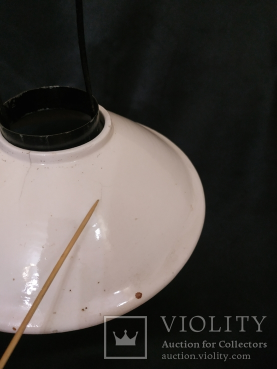 Подвесная  старинная лампа, фото №4