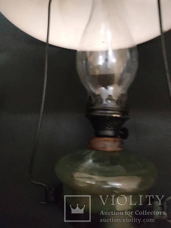 Подвесная  старинная лампа, фото №9