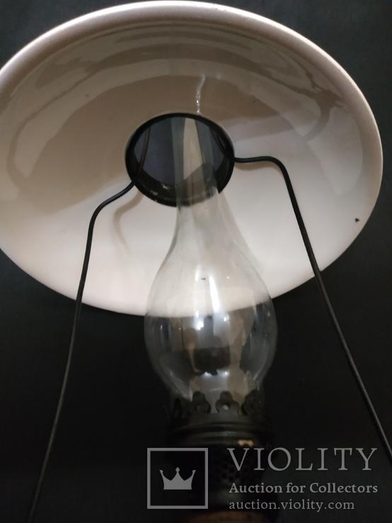 Подвесная  старинная лампа, фото №11