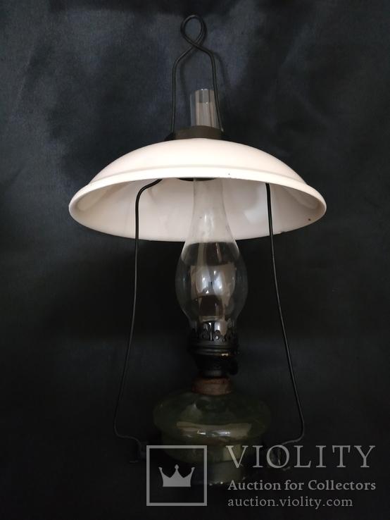 Подвесная  старинная лампа, фото №12