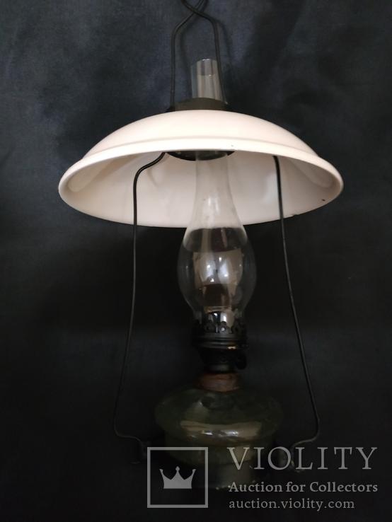 Подвесная  старинная лампа, фото №13