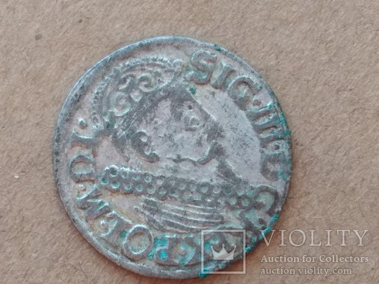 Трояк 1622г, фото №5