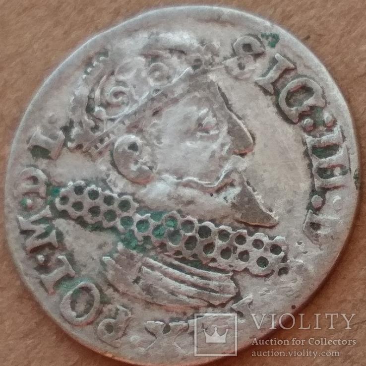 Трояк 1623г, фото №5