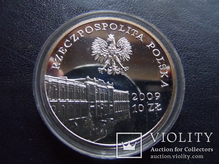 10 злотых 2009  Польша серебро  (3.4.7)~, фото №3