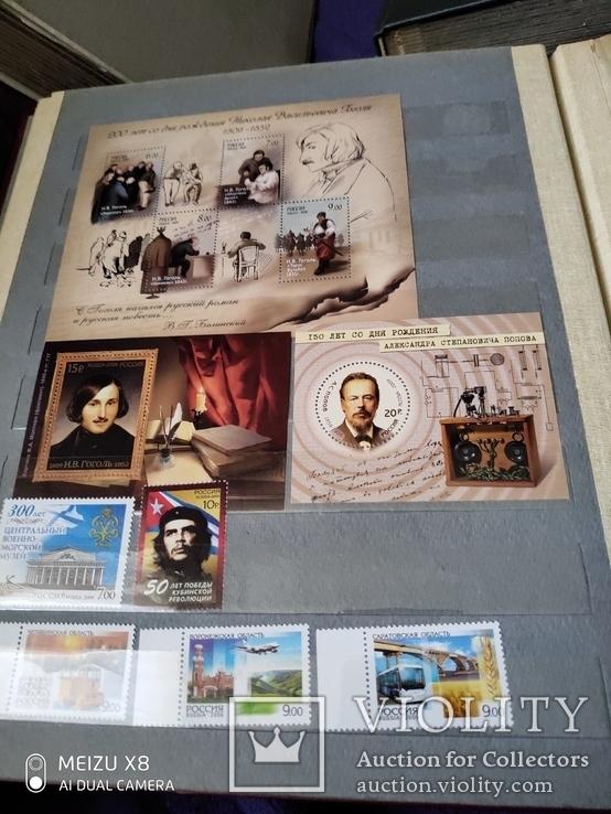 Лот марокРоссии за 2009г с блоками и малыми листами, фото №6