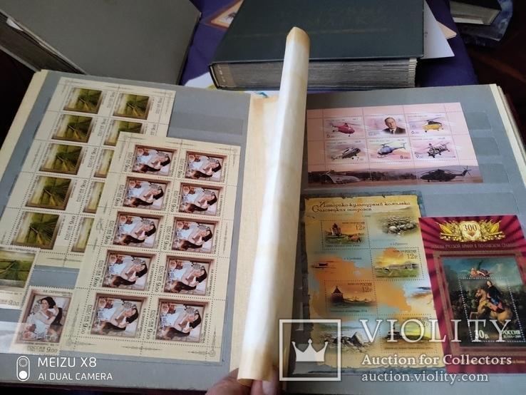 Лот марокРоссии за 2009г с блоками и малыми листами, фото №12