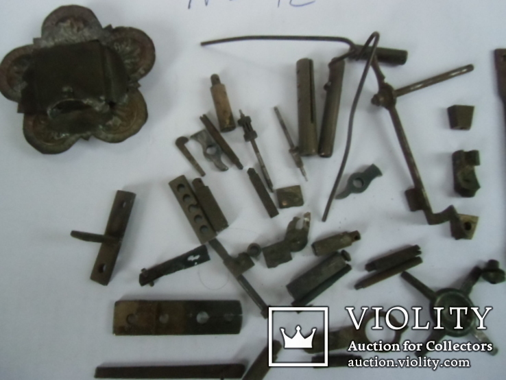 Разные детальи от розборки часов №12, фото №12