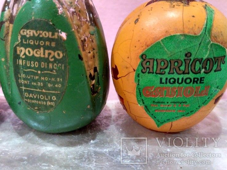 3 коллекционные мини бутылочки ликера 60-80 годов, фото №4