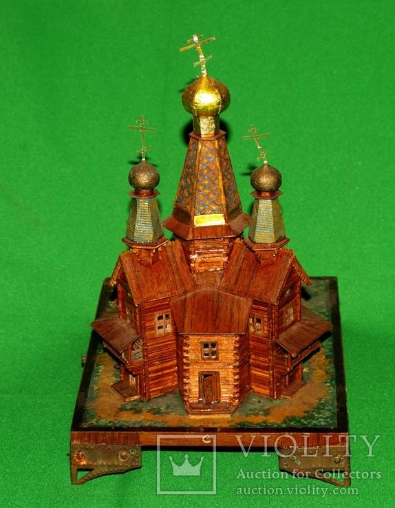 Макет церквушки церкви, фото №5