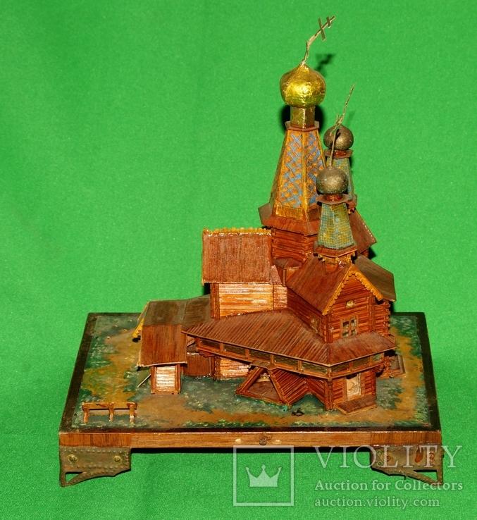 Макет церквушки церкви, фото №6
