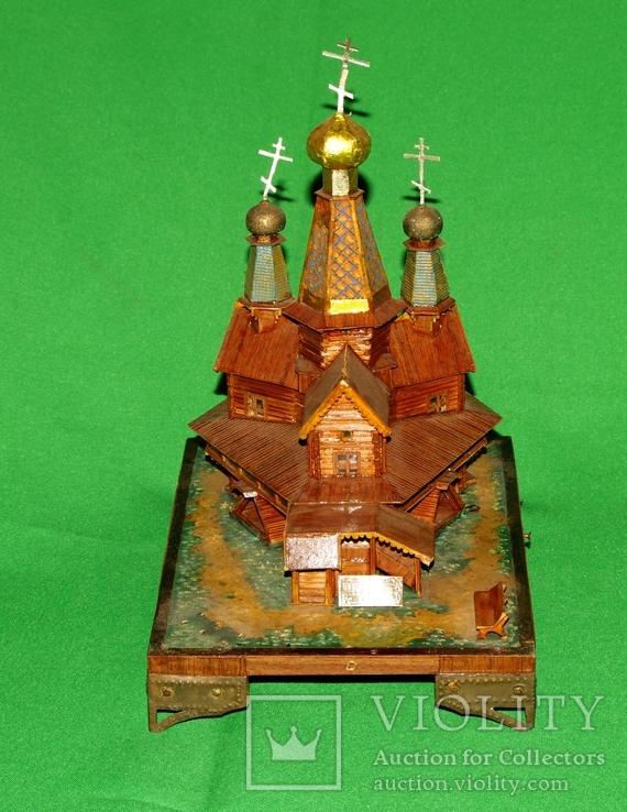 Макет церквушки церкви, фото №7