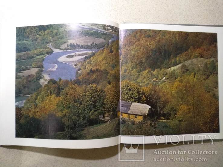Фотоальбом. Закарпатье - край туристский. 1978 р.(на 6 мовах), фото №10