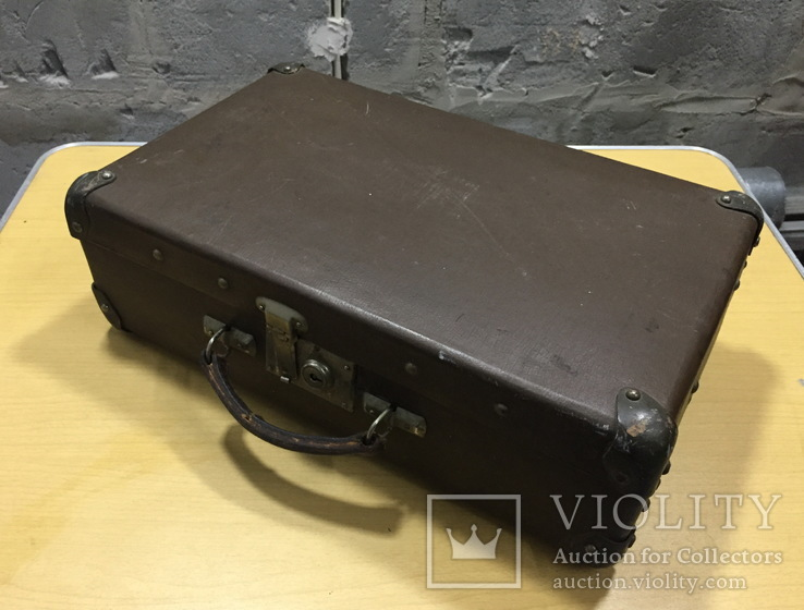 Винтажный чемодан периода СССР, Декор , Интерьер, фото №4