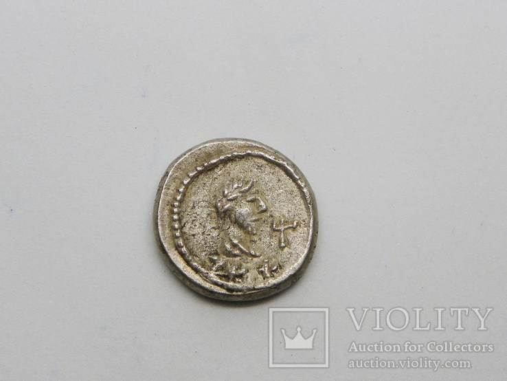Статер Рискупорид IV ZΜΦ (547 г. б.э.), справа «трезубец», фото №2