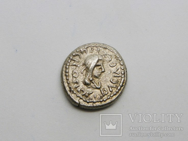 Статер Рискупорид IV ZΜΦ (547 г. б.э.), справа «трезубец», фото №3