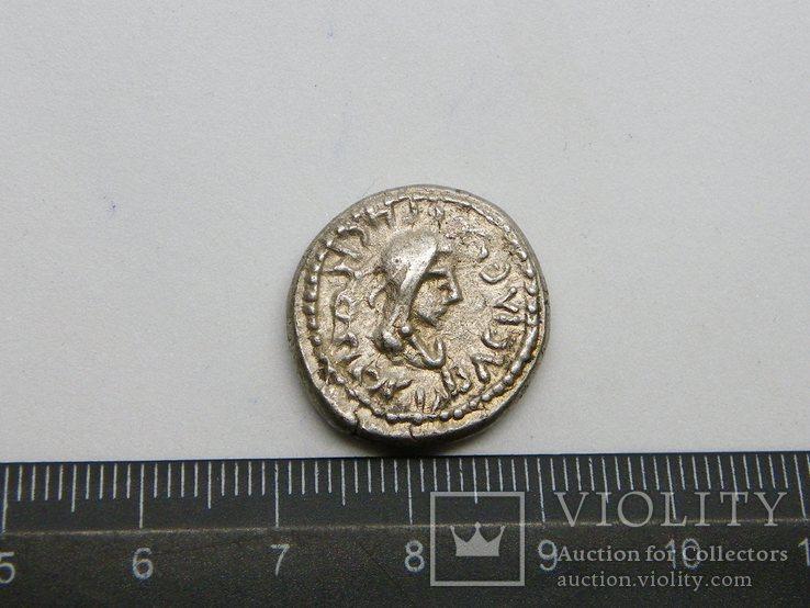 Статер Рискупорид IV ZΜΦ (547 г. б.э.), справа «трезубец», фото №4