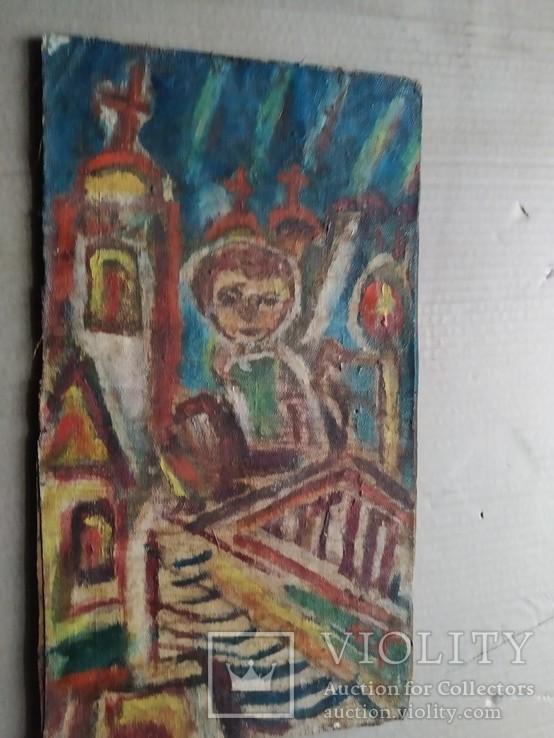 """Свеча"" х.на к./м.  Ю.Коваленко (1931-2004), фото №8"