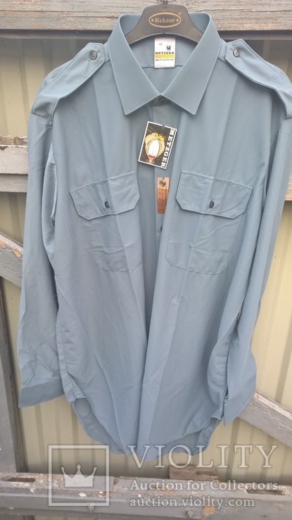 Форменная рубашка.Швейцария(нейлон).Новая., фото №2