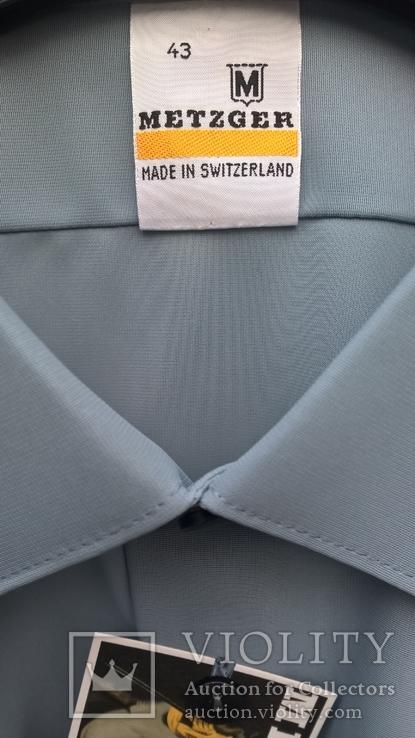 Форменная рубашка.Швейцария(нейлон).Новая., фото №3