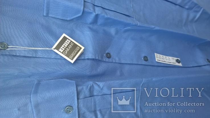 Рубашка и тениска.Форменная.Швейцария.100% coton.Новые две шт., фото №3