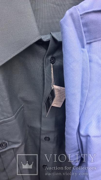 Рубашка и тениска.Форменная.Швейцария.100% coton.Новые две шт., фото №4