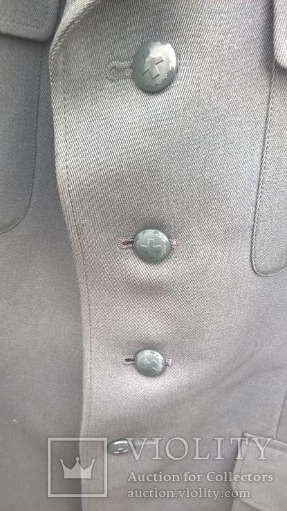 Китель-мундир-пиджак.Армия Швейцарии-черный кант., фото №9