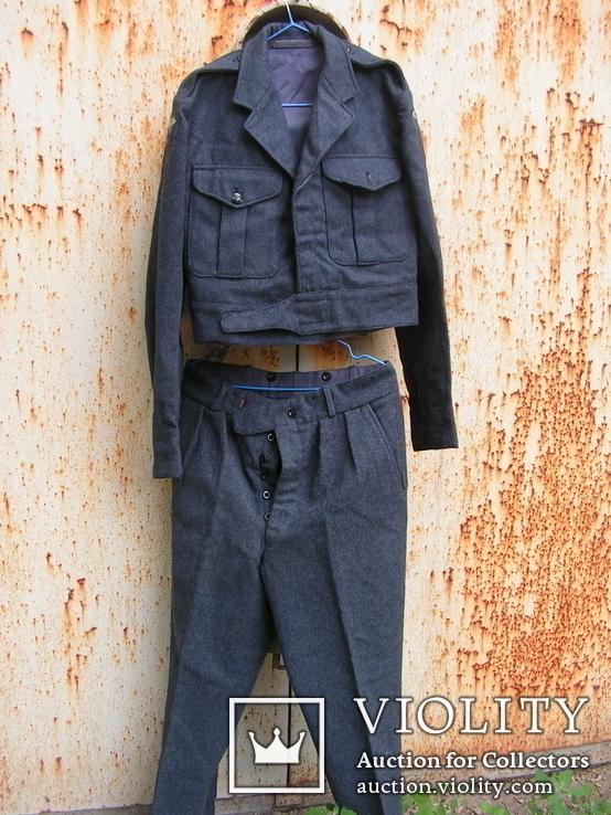 Боевая блуза и брюки британских летчиков. Вторая Мировая.