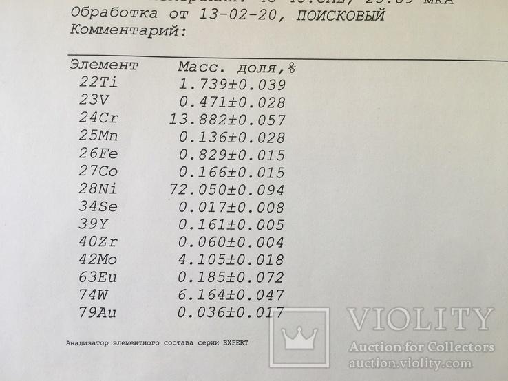 Лопатка турбины Заготовка для ножа Сплав, фото №6
