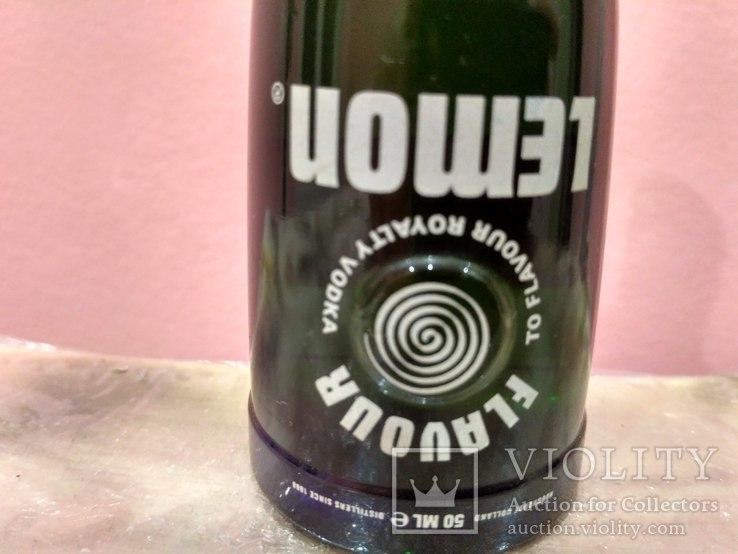 Коллекционная мини бутылочка водки Vodka 60-80 годов, фото №5