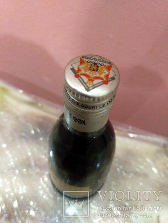 Коллекционная мини бутылочка водки Vodka 60-80 годов, фото №7