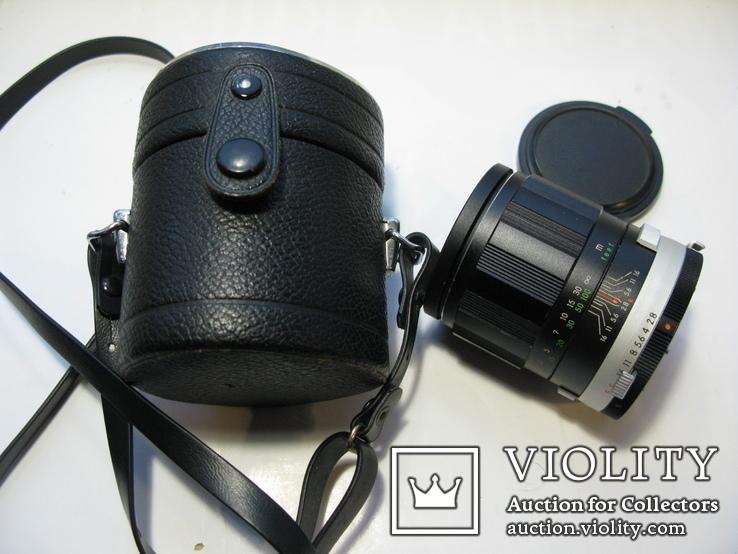 Auto MIRANDA E 1:2.8 f=105mm Lens made in Japan, фото №4