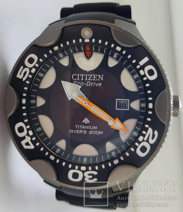 Citizen Eco-Drive Titanium Diver`s 200m