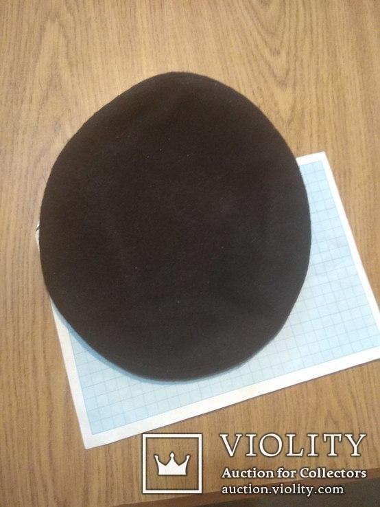 Берет черный, фото №5