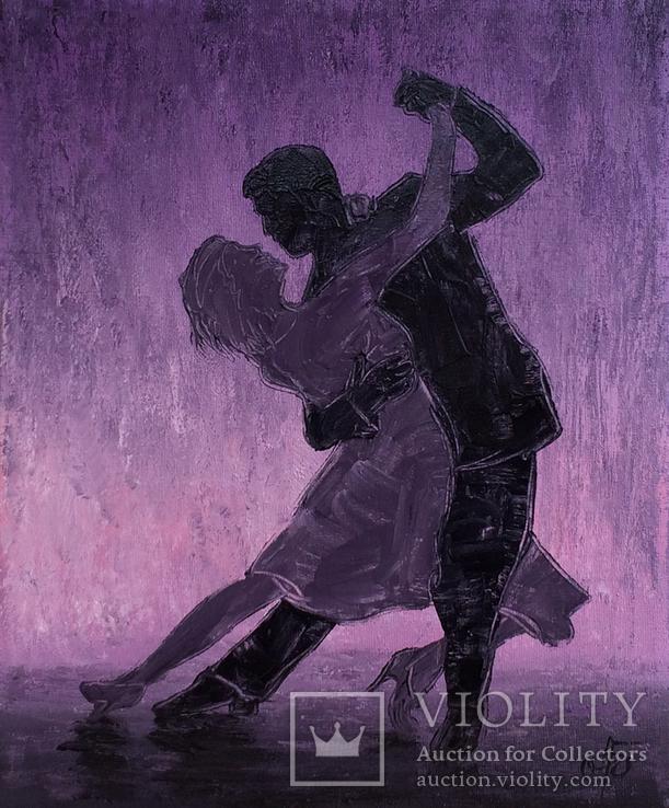 Картина Страстный танец, 25х30 см, фото №2