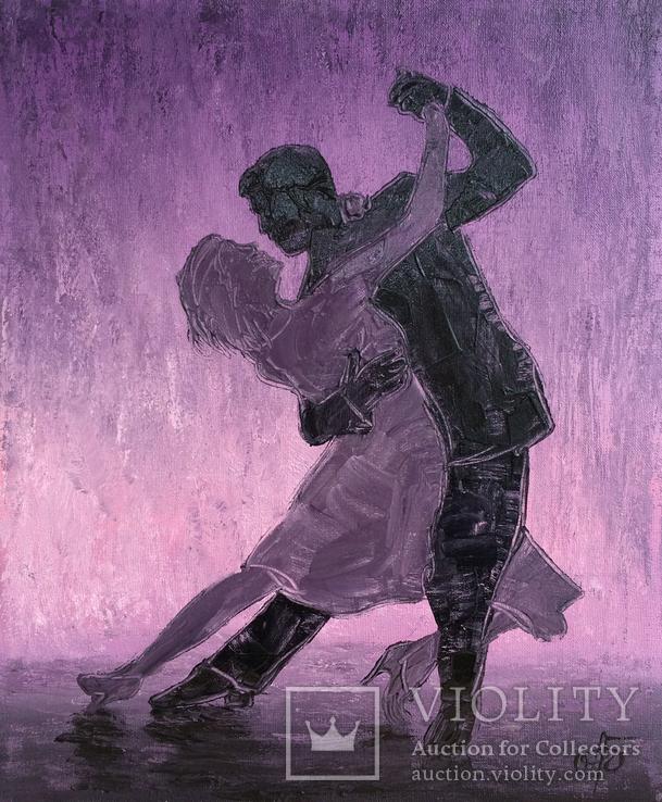 Картина Страстный танец, 25х30 см, фото №3