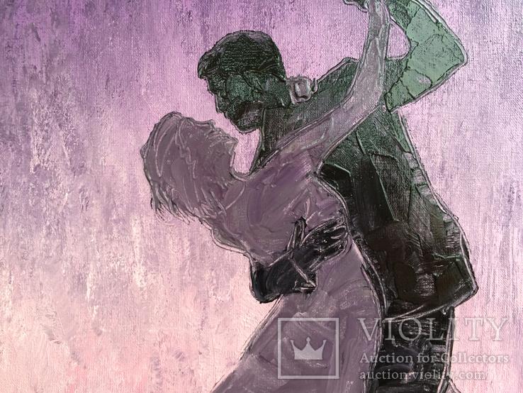 Картина Страстный танец, 25х30 см, фото №4