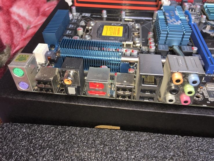 Материнская Asus P6T SE   LGA1366, фото №7