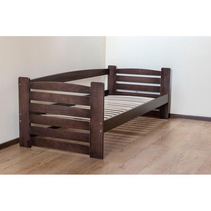 Дерев'яне ліжко. Односпальне ліжко. 80х190. Односпальная кровать