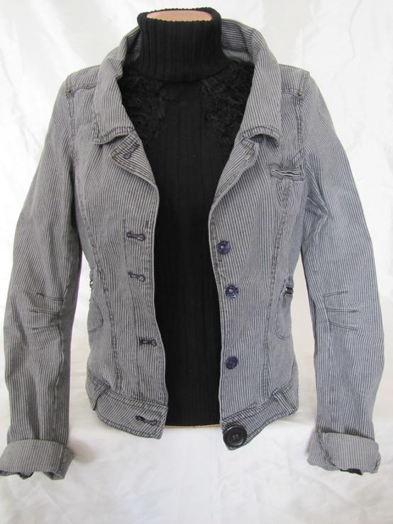 Куртка джинсовая H&M №3  р42-44 (S-M)