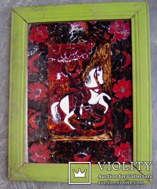 Св.Георгий на стекле, фото №2