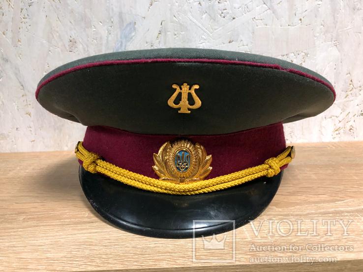 Фуражка, военный оркестр ВС Украины, фото №3