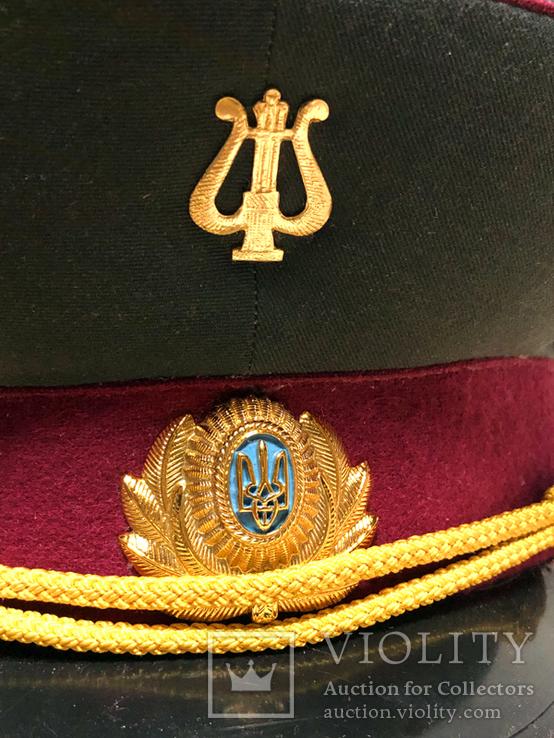Фуражка, военный оркестр ВС Украины, фото №13