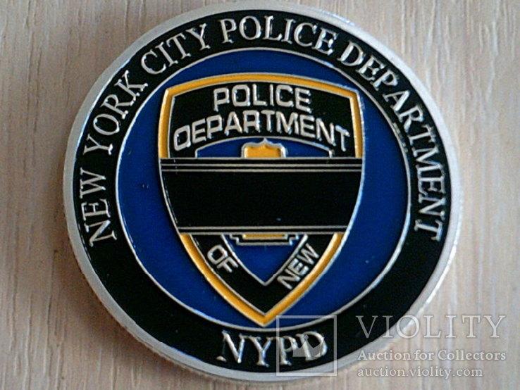 New York citi - жетон полиция Usa, фото №3