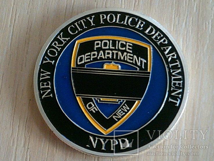 New York citi - жетон полиция Usa, фото №4