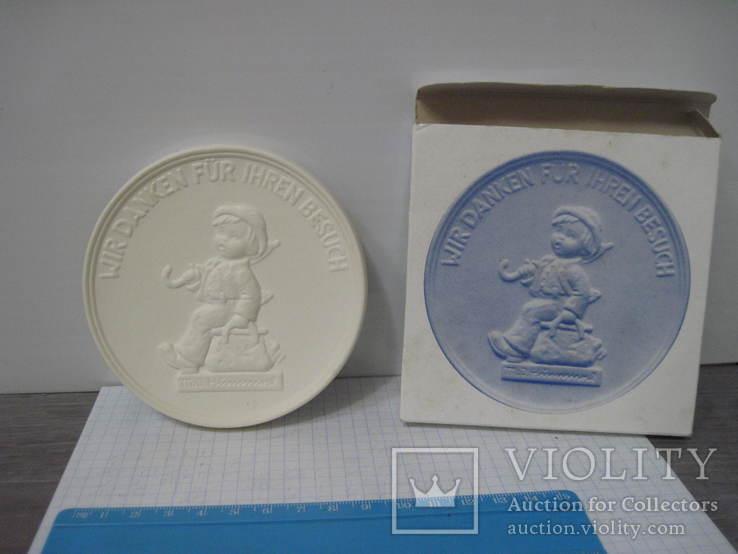 Медаль Goebel, Wir danken fur Inren Besuch, фото №2