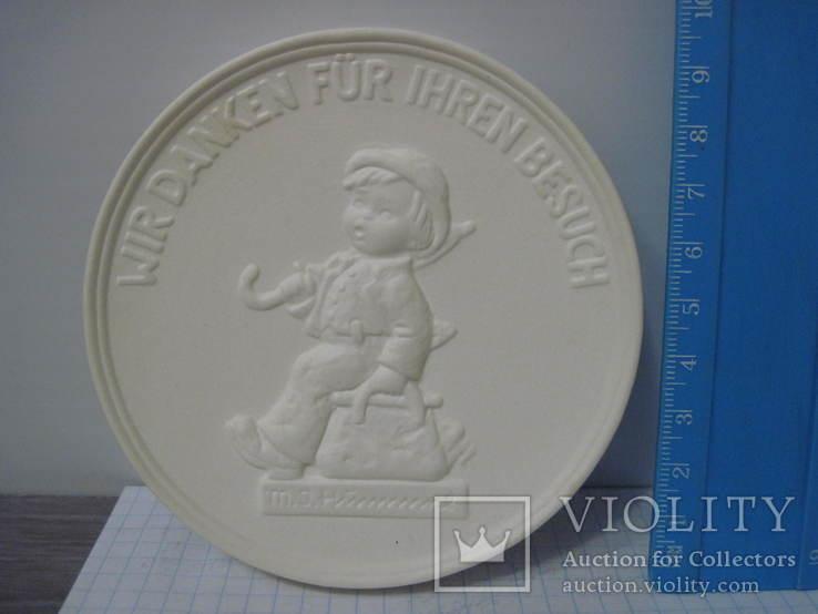 Медаль Goebel, Wir danken fur Inren Besuch, фото №3