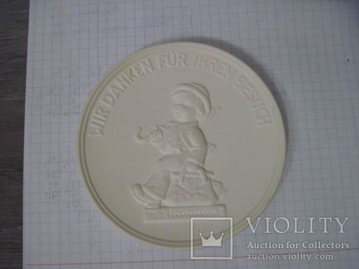 Медаль Goebel, Wir danken fur Inren Besuch, фото №6