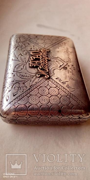 Табакерка Серебро Золото, фото №4