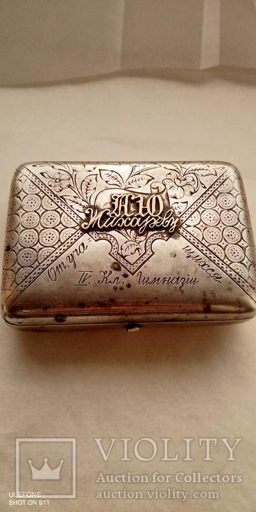 Табакерка Серебро Золото, фото №10