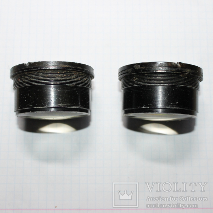 Две линзы от бинокля , одним лотом, фото №2